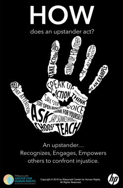 Be an Updstander - how poster