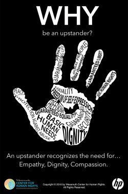Be an Updstander - why poster