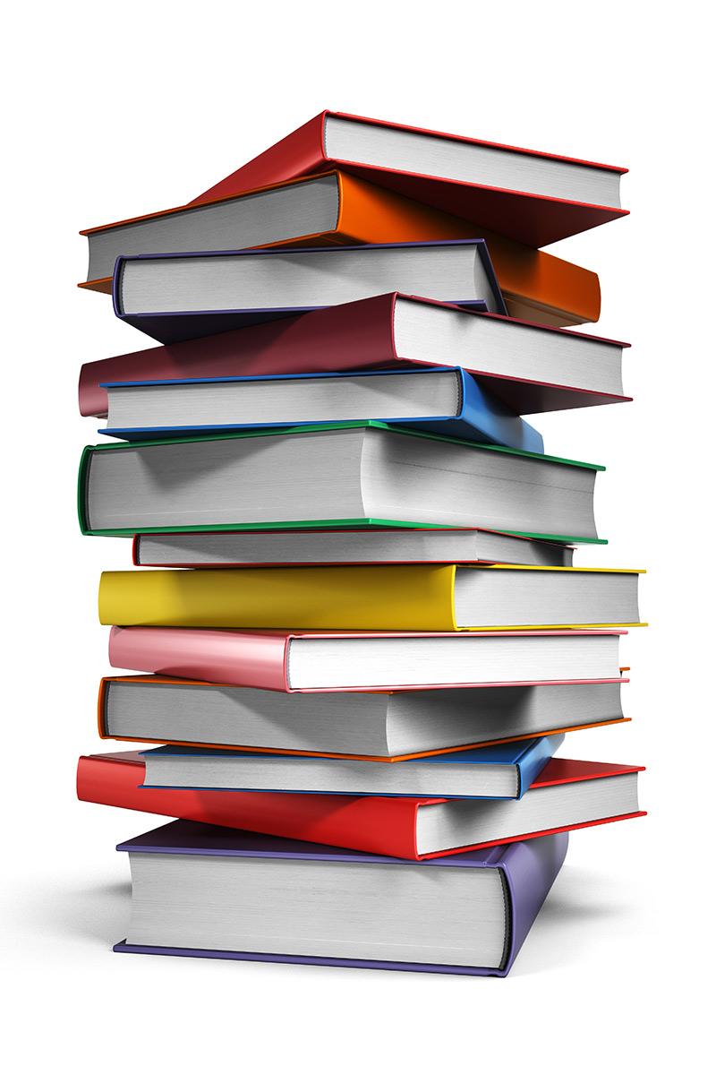 wassmuth books stacked